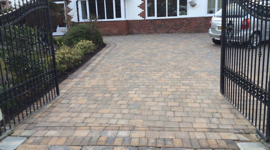 recent block paving project carried out