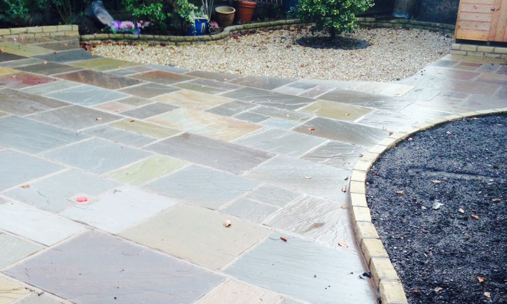 recent work for patios in county-durham