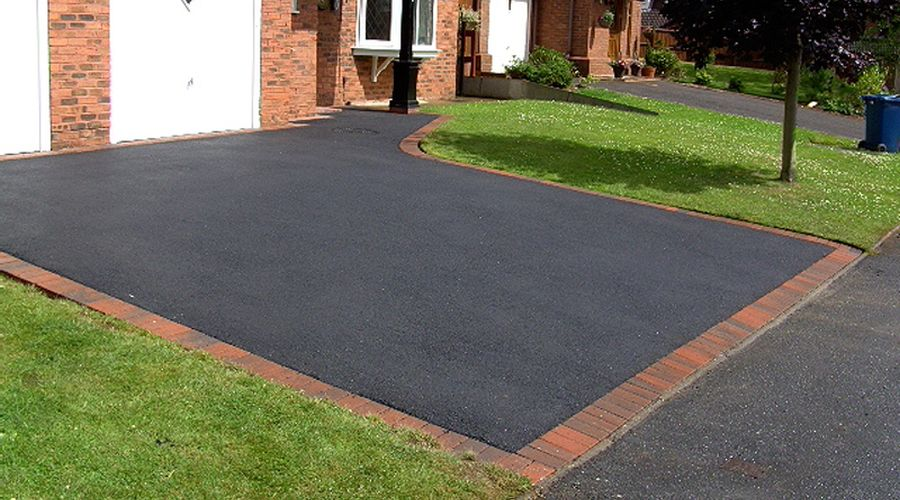 recent project for tarmac driveways in Newport